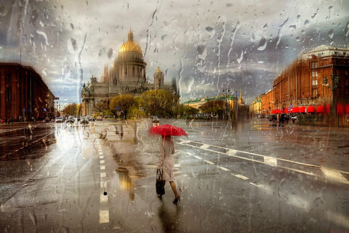 Стихи о Питере и дожде